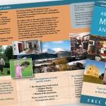 Abergavenny Museum and Castle rack leaflet