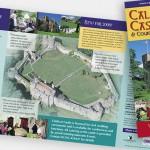 Caldicot Castle rack leaflet